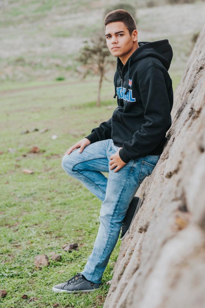 Sesión de fotos y books a chico en San José del Álamo