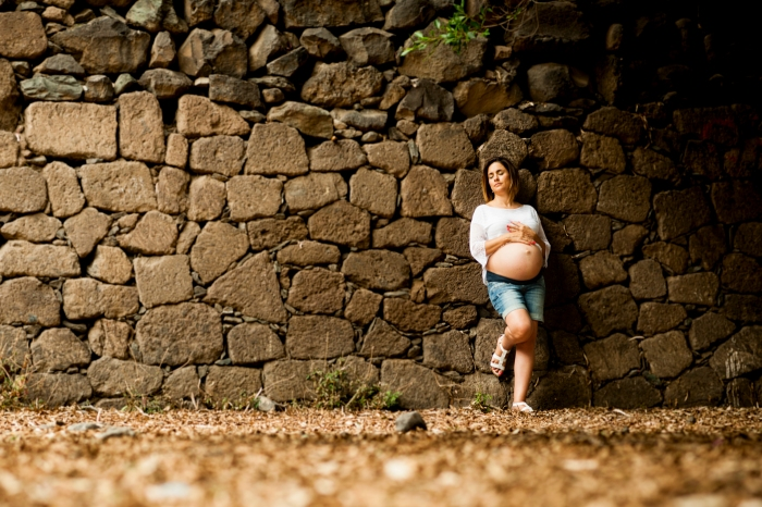 Fotografía de embarazo y maternidad en Moya y Las Palmas