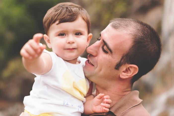 Sesión de fotos infantil y reportaje de familia en Jardín Botánico en Las Palmas