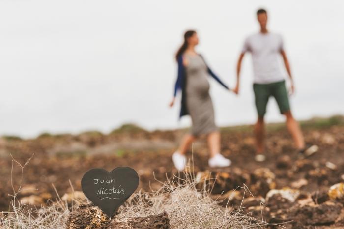 Fotografía de maternidad y embarazo en Fuerteventura La Oliva