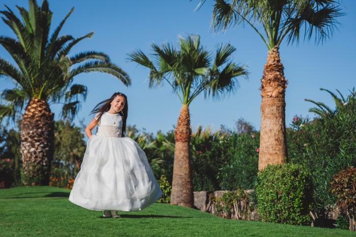 Fotografía y fotos de primera Comunión en Fuerteventura en Hoteles Elba y Castillo Caleta de Fuste
