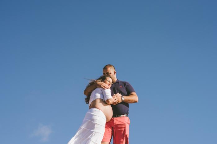 Fotografía de maternidad y embarazo en Fuerteventura El Cotillo