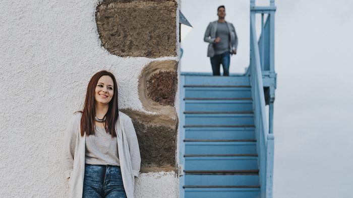 Fotógrafo de bodas, preboda y parejas en Las Palmas en las Salinas Tenefé en Pozo Izquierdo