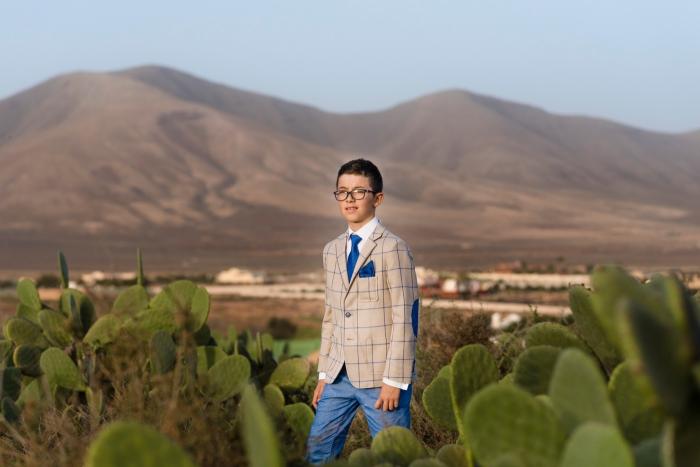 Fotografía fotos de mi primera comunión en Las Palmas y Fuerteventura en Triquivijate