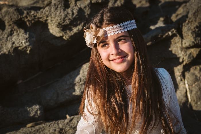 Fotógrafo de comunión en Fuerteventura en Betancuria y Playa Del Valle de Santa Inés