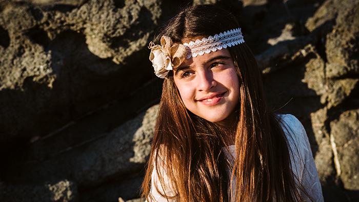 Fotógrafo de comunión en Aguas Verdes en Fuerteventura