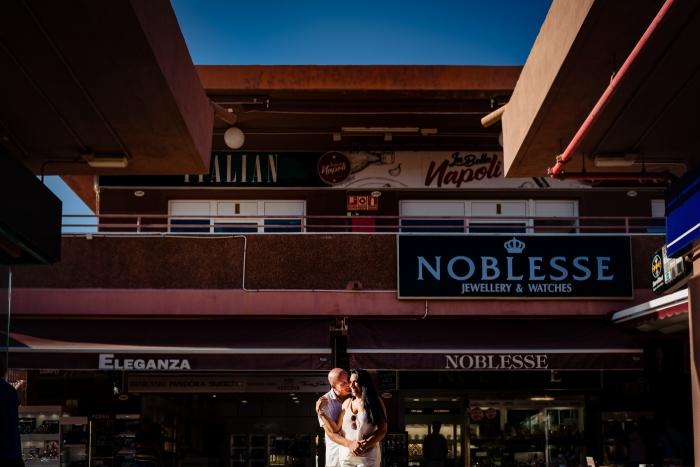 Preboda en Gran Canaria en Maspalomas en Yumbo Centrum y dunas
