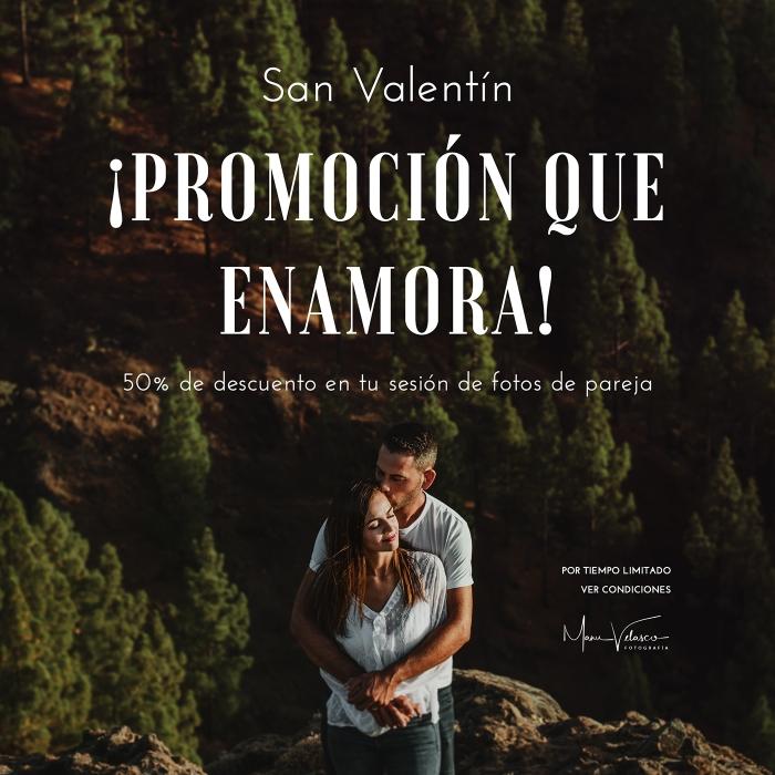Fotógrafo en Gran Canaria y Las Palmas para sesiones de fotos de San Valentín